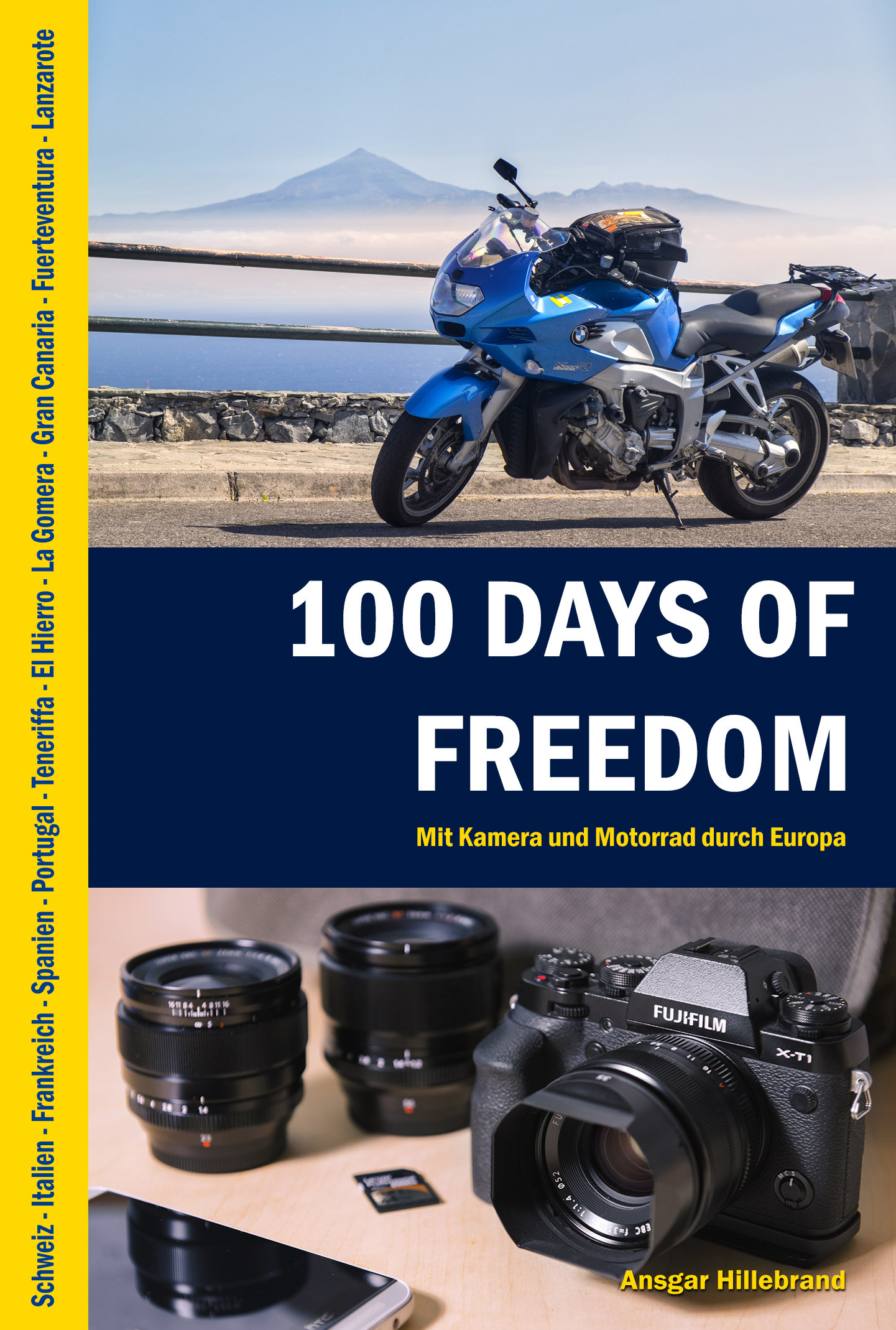 """100 Days Of Freedom"", Cover, E-Book, eBook, ePub, MOBI, PDF, amazon, Kindle, Tolino"